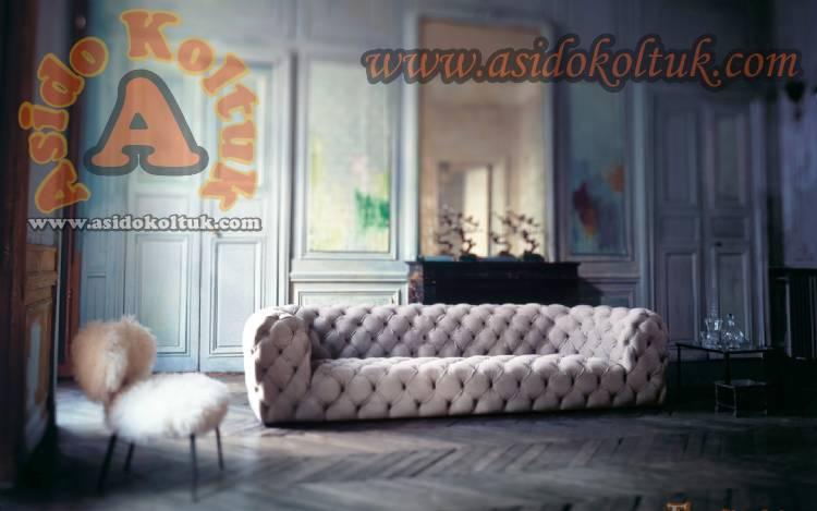 İtalyan Chester Koltuk Kanepe Özel Üretim