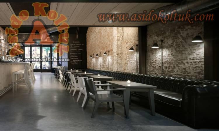 Lüx Kafe Restoran Özel Ölçü Chester Deri Koltuk