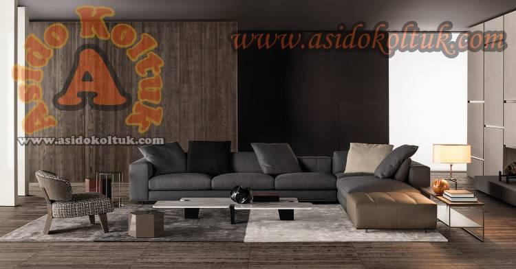 Tasarım L Koltuk Takımı Özel Ölçü Üretim Luxury