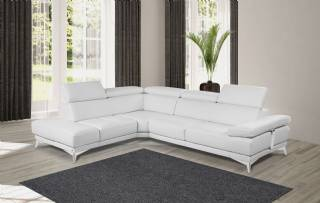 Beyaz L Koltuk Takımı Modelleri L Köşe Koltuk