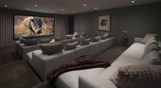 Ev Sinema Salonu Özel Üretim Koltuk Takımları