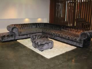 Klasik Chester Köşe Koltuk Özel Üretim Tasarım