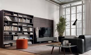 Modern Tv Ünitesi Ve Kitaplık Özel Ölçü Üretim