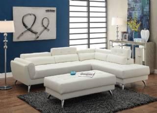 Puflu Beyaz Köşe Koltuk Takımı Yeni Tasarım Modeller