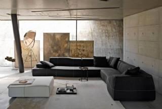 Siyah Tasarım Köşe Koltuk Takımı Yeni Tasarım Modeller