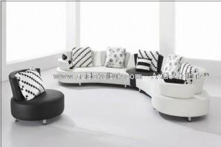Siyah Beyaz Yuvarlak Köşe Takımı Özel Ölçü ve Tasarım, Kurumsal Mekanlar, Otel Lobileri, Dekoratif Mekanlar isteyenlere Özel