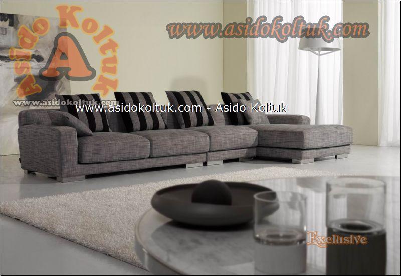 Modern köşe koltuk özel ölçü ve üretim seçenekleriyle