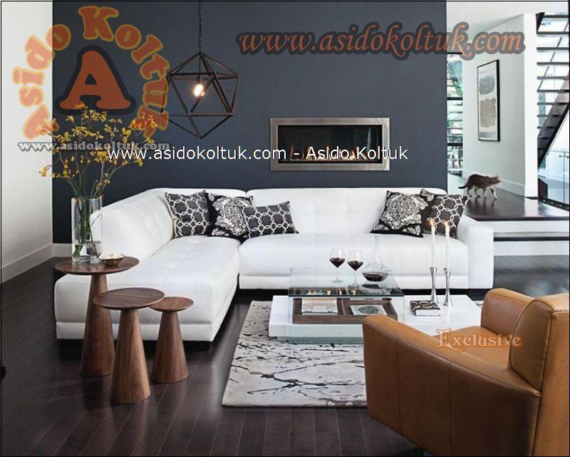 Modern Köşe Koltuk Oturma Odası
